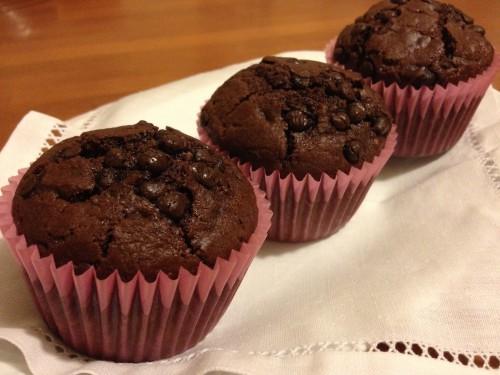 muffin cioccolato e rum