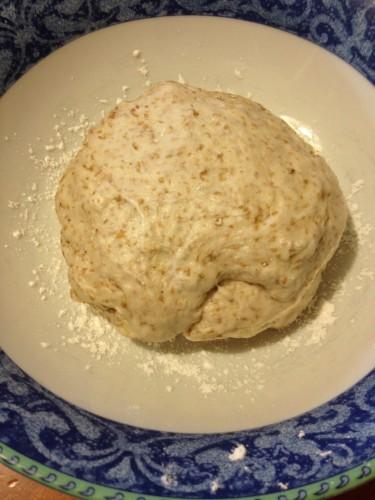 piadina integrale, piadina con scarti di lievito madre, piadina con esuberi di lievito madre, piadina, ricette con farina integrale