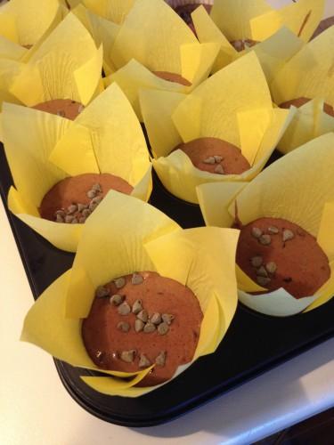 muffin al cioccolato,muffins al doppio cioccolato,dolci con cioccolato,muffins,muffin