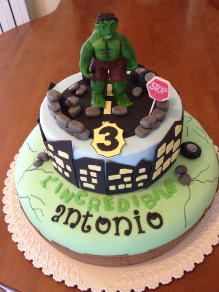 l incredibile hulk paola e le torte