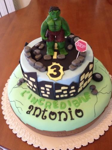 Hulk, torta Hulk, Hulk cake