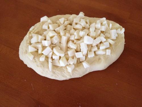 Pane al formaggio, pane morbido al formaggio