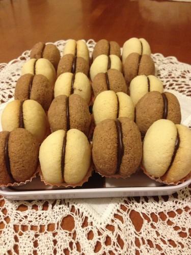 baci di dama, biscotti