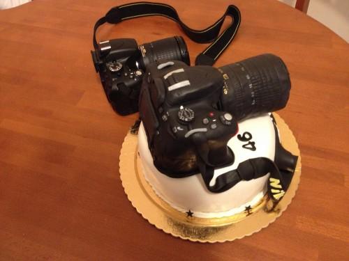 torta macchinetta fotografica,camera cake,reflex cake,torta reflex
