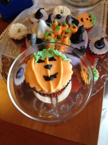 cupcakes al limone,cupcakes halloween