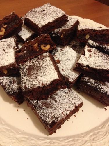 chocolate brownies, brownies, dolce al cioccolato