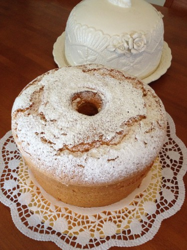 ciambella,ciambellone americano,chiffon cake
