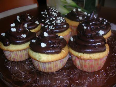 Muffins e cupcakes
