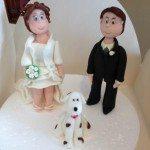 Sposi e cagnolino