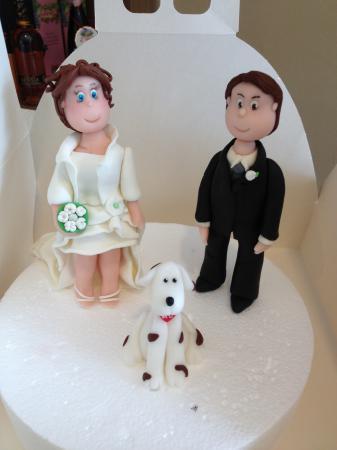 Wedding cake e sposi in pdz
