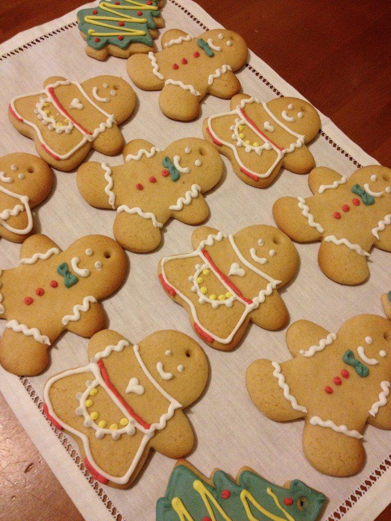 Biscotti natalizi di pan di zenzero