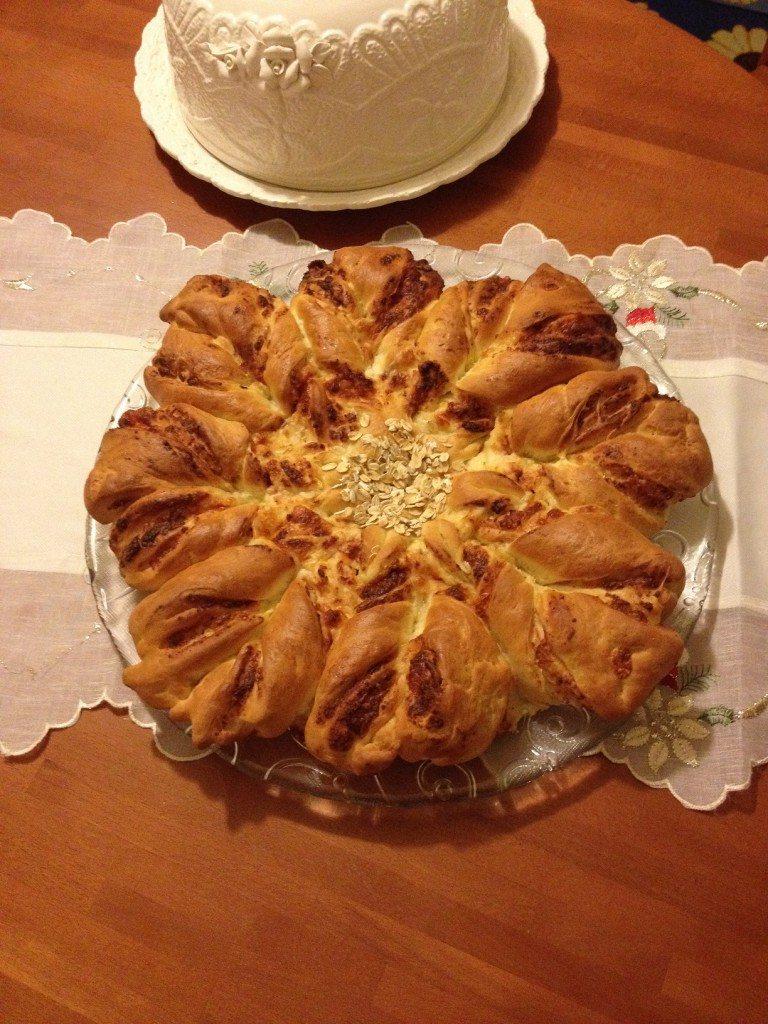 Fiore di pan brioche salato