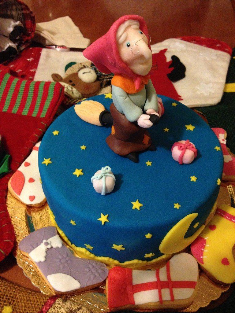 I biscotti e la torta per la Befana