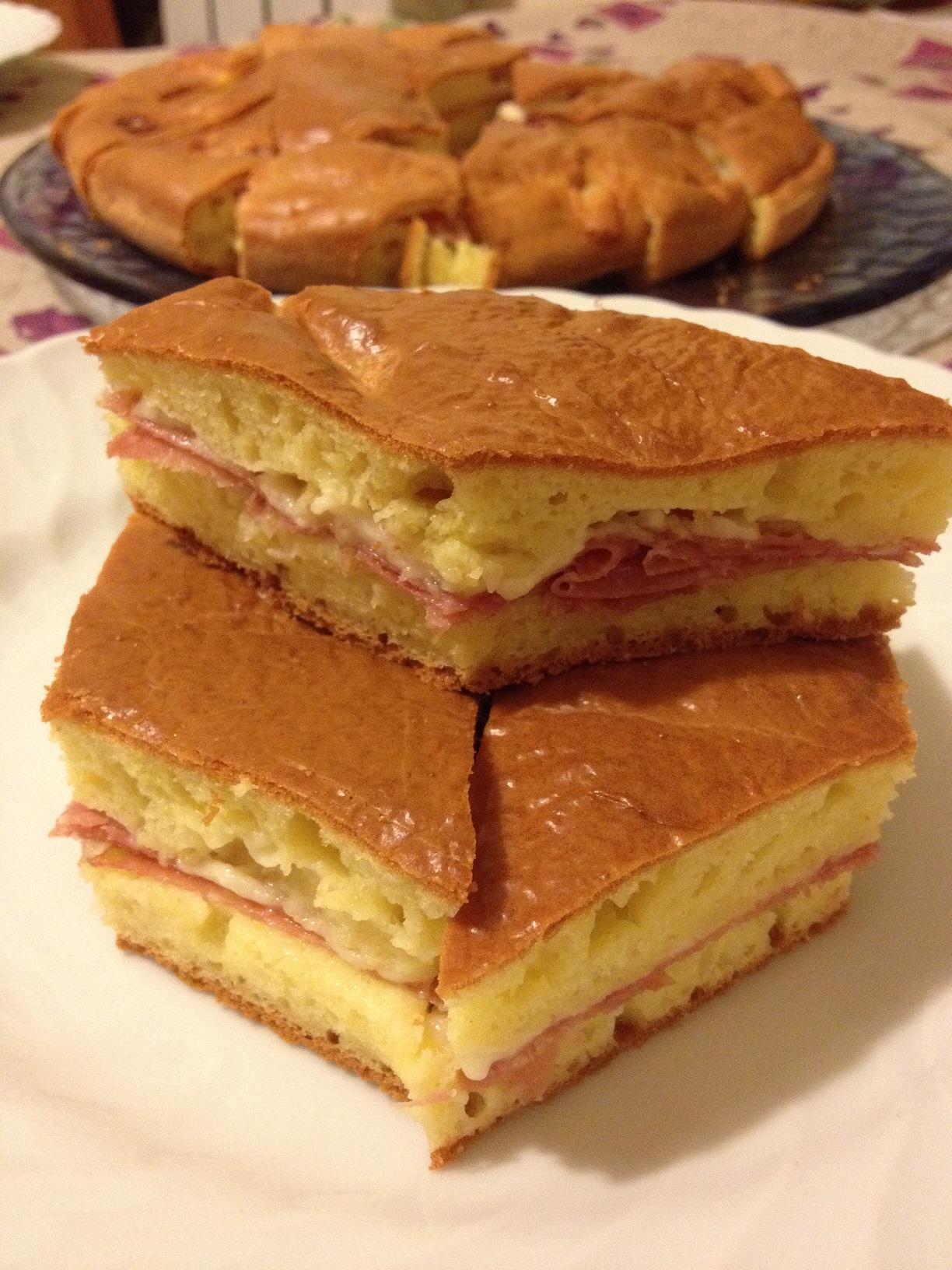 Fabuleux Bocconcini salati al salame e formaggio | Paola e le torte OP36