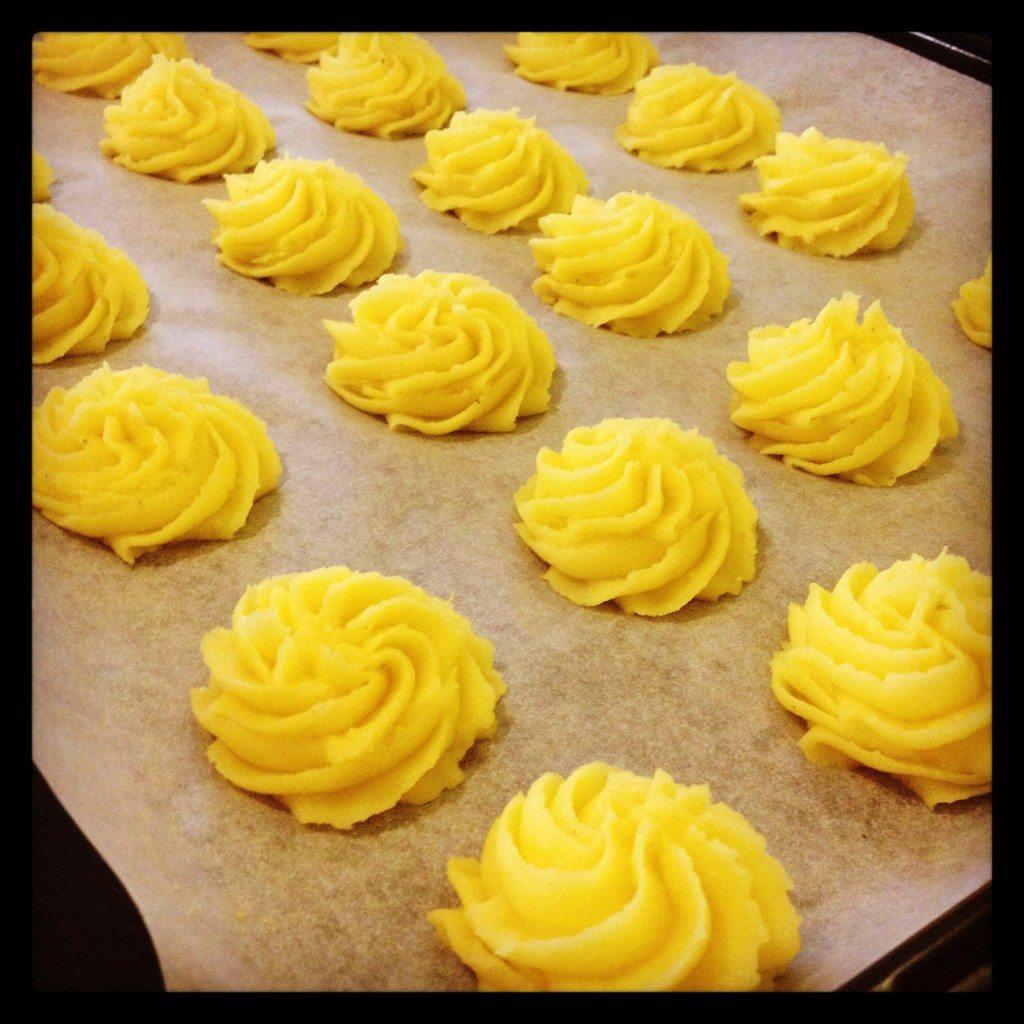 Patate duchessa (ricetta Montersino)