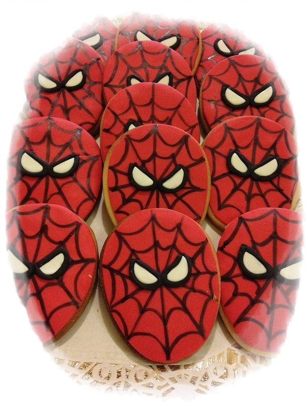 Biscotti Spiderman