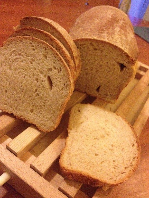 Pan carrè con lievito madre