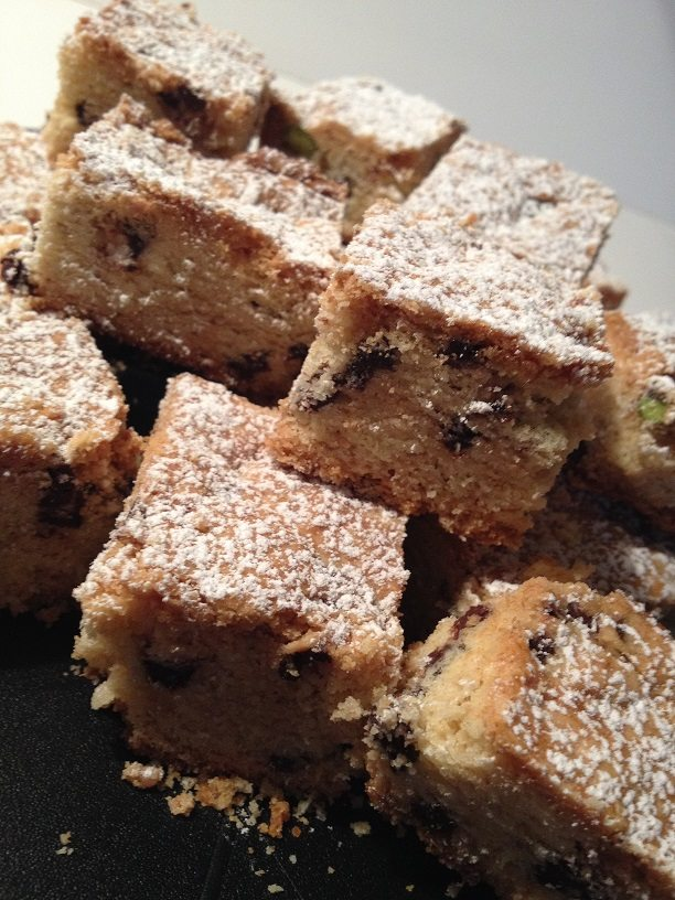 Il biscottone con cioccolato e pistacchi