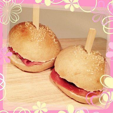 Panini per hamburger...e non solo