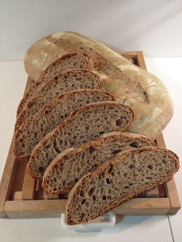 Pane integrale con licoli