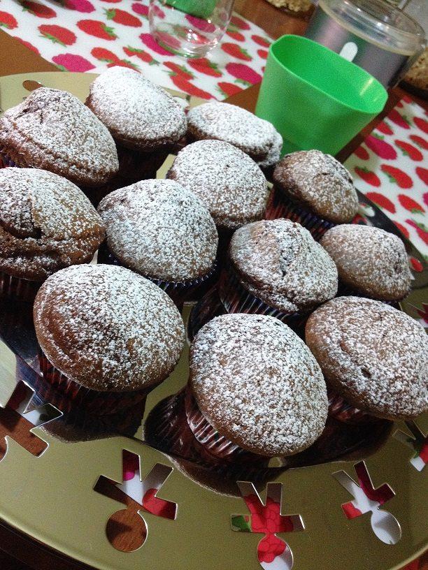 Muffin dal cuore fondente