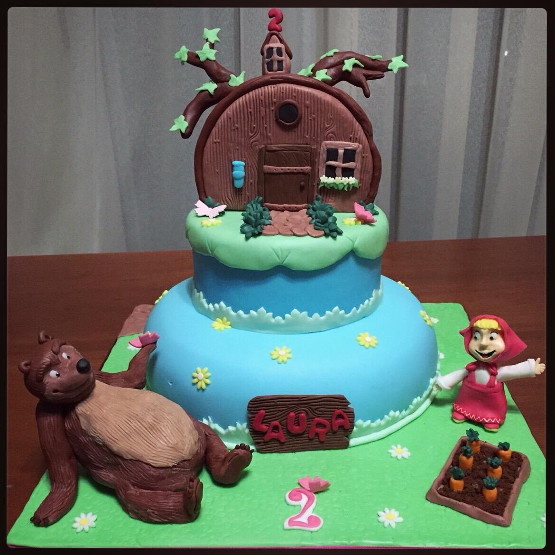 Torta Masha E Orso Paola E Le Torte