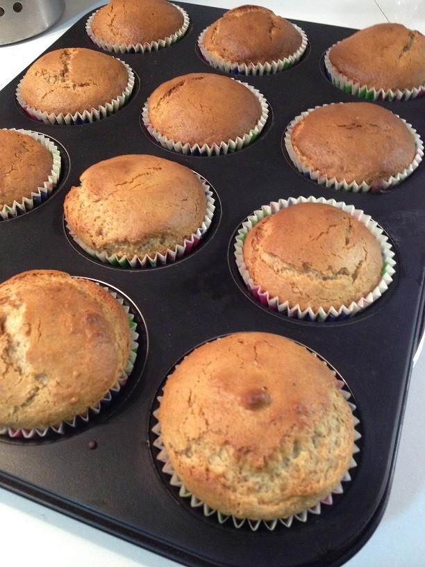 Muffins alle mandorle