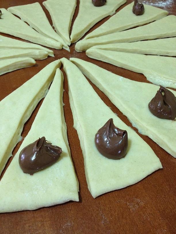 Cornetti morbidissimi alla Nutella