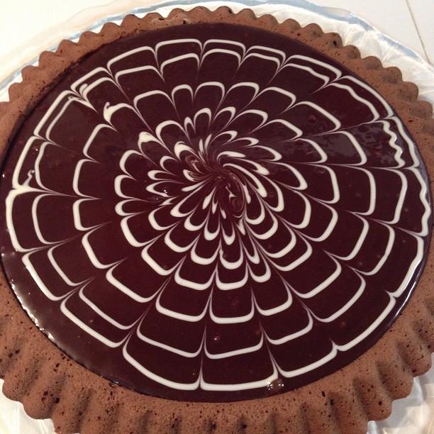 Torta furba al cioccolato