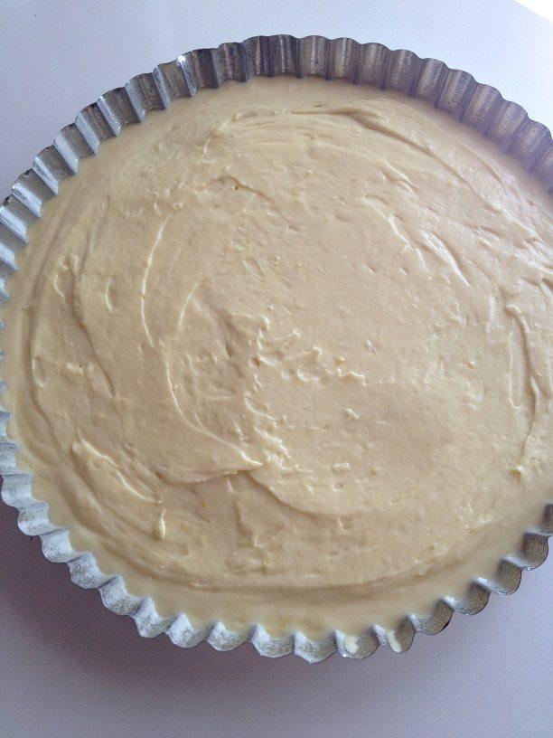 Crostata di crema e fragole con stampo furbo