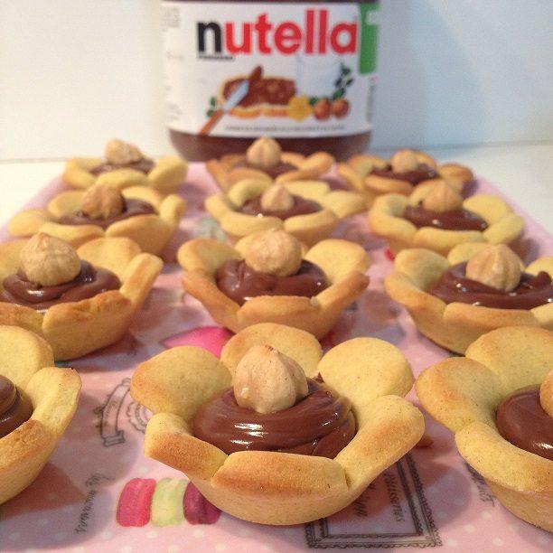 Tartellette alla Nutella