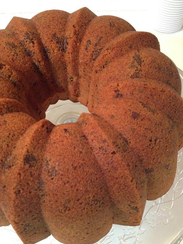 Bundt cake arancia e cioccolato