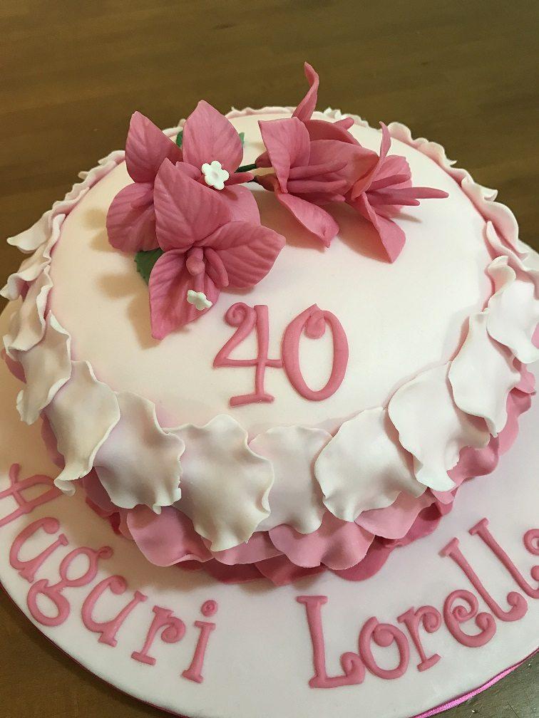 Amato Torte 40 Anni | Paola e le torte YO37