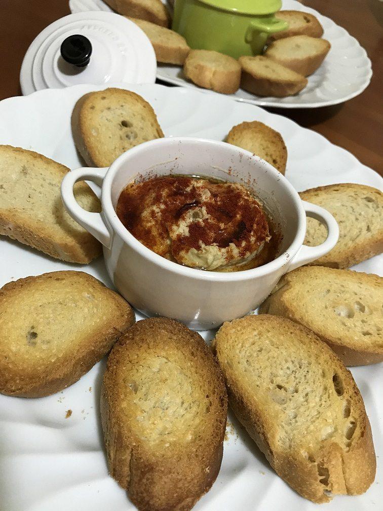 Hummus di ceci con paprika (ricetta di Fables de Sucre)