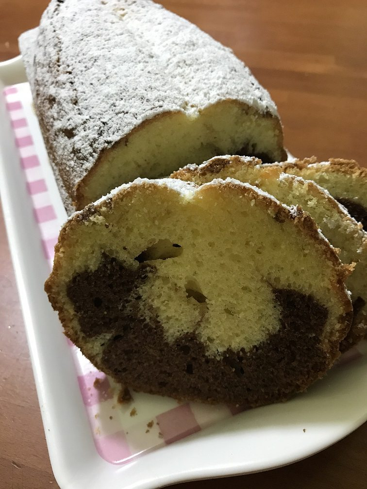 Plumcake variegato