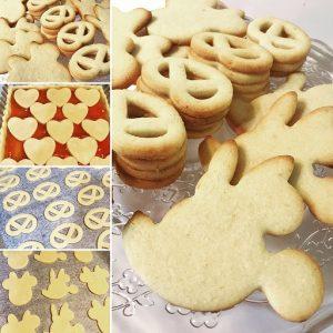 Biscotti di pasta sable' alle mandorle di Massari