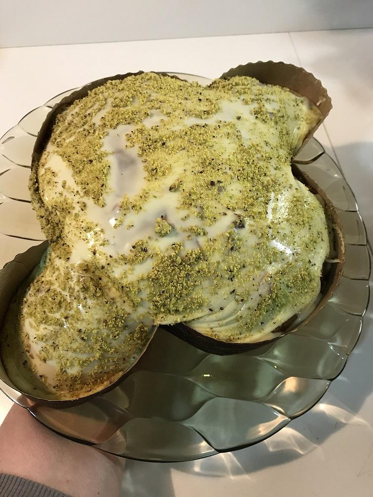 Colomba salata con pasta madre